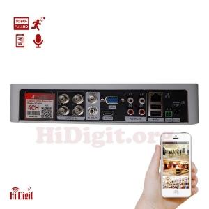 دستگاه ضبط کننده ویدئو 4 کانال AHD